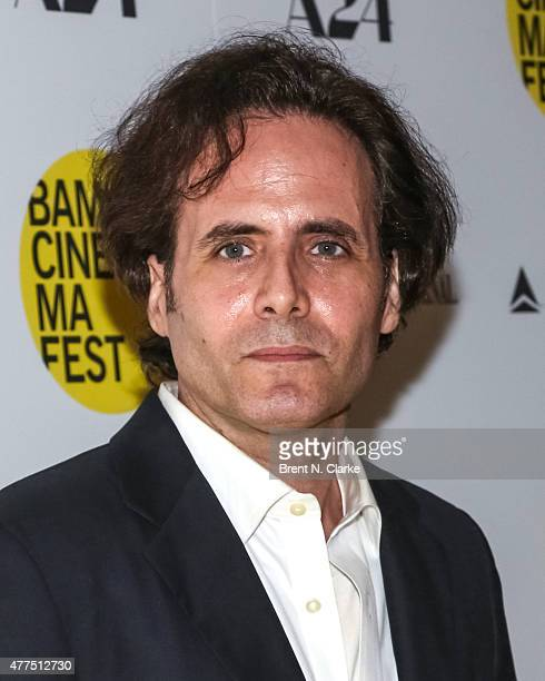 Author David Lipsky arrives for the BAMcinemaFest 2015 'The End Of Tour' opening night screening held at BAM Howard Gilman Opera House on June 17...