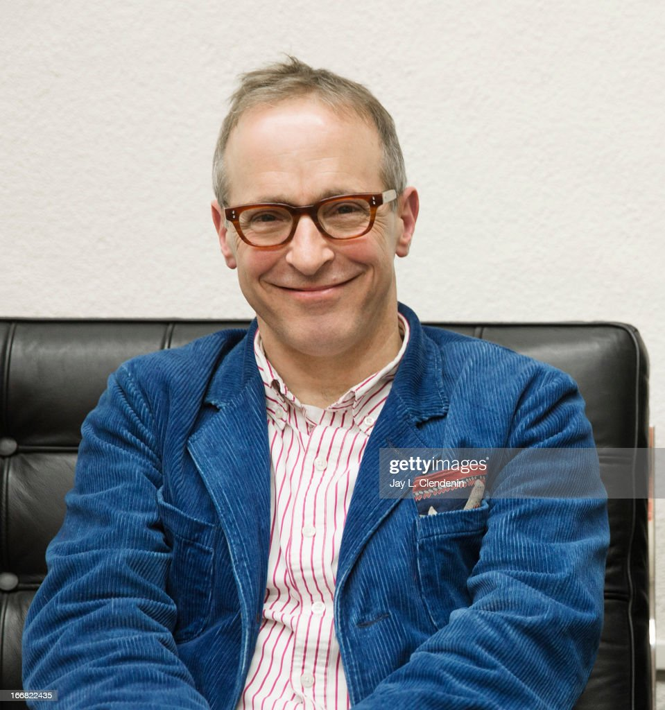 Author <a gi-track='captionPersonalityLinkClicked' href=/galleries/search?phrase=David+Sedaris&family=editorial&specificpeople=1056693 ng-click='$event.stopPropagation()'>David Sedaris</a> is photographed at the Sundance Film Festival for Los Angeles Times on January 20, 2013 in Park City, Utah. PUBLISHED IMAGE.