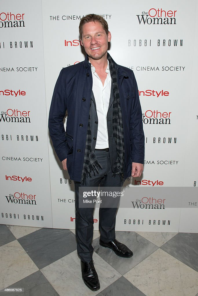 Author David Zinczenko attends The Cinema Society & Bobbi Brown with InStyle screening of 'The Other Woman' at The Paley Center for Media on April 24, 2014 in New York City.