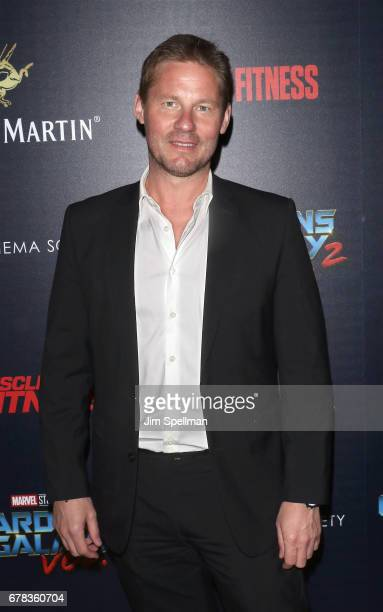 Author David Zinczenko attends the screening of Marvel Studios' 'Guardians Of The Galaxy Vol 2' hosted by The Cinema Society at the Whitby Hotel on...