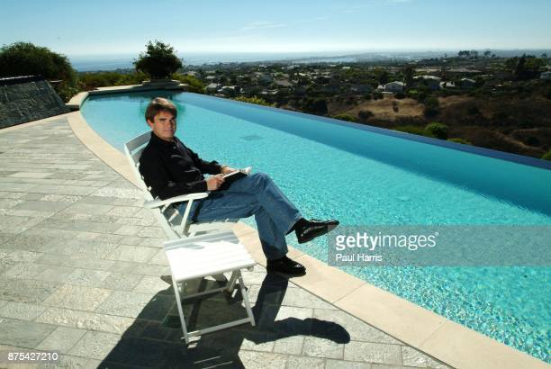 Author Dean Koontz has just moved into a new multi million dollar home on Pelican Hill overlooking Newport beach August 6 2003 Pelican Hill Newport...