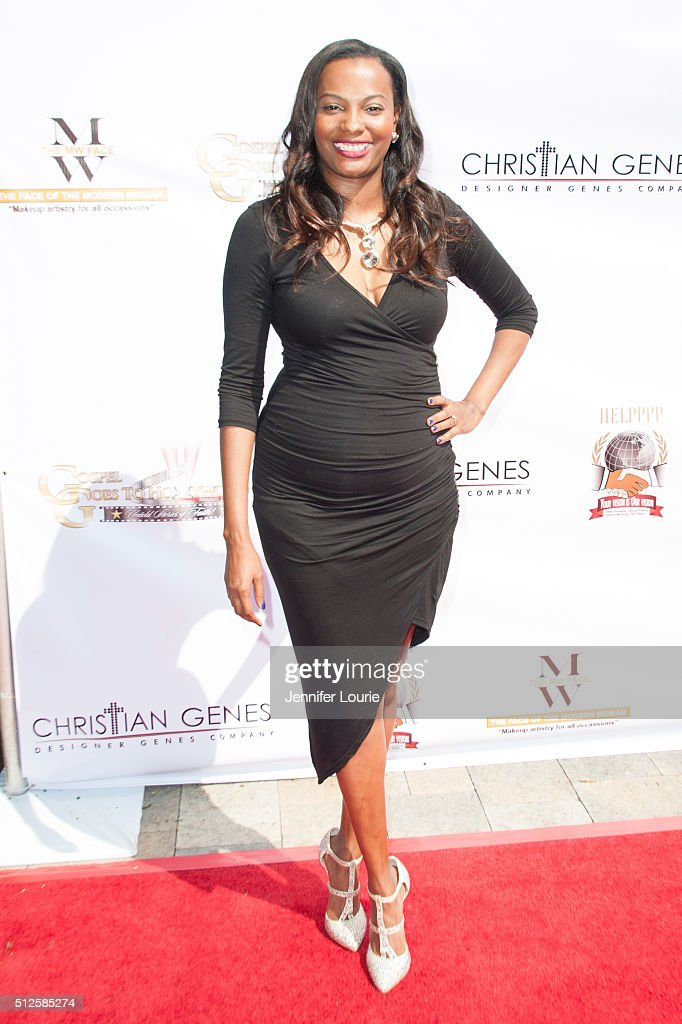Author Donya Fenner arrives at the Gospel Goes To Hollywood event at the Vibiana on February 26 2016 in Los Angeles California