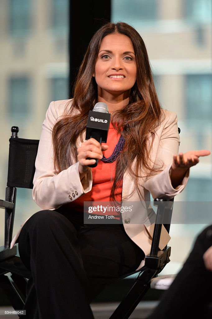 Author Dr. Shefali Tsabary attends AOL Build Presents Dr. Shefali Tsabary discussing her new book 'The Awakened Family: A Revolution in Parenting' at AOL Studios In New York on May 26, 2016 in New York City.