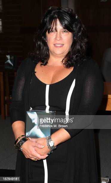 Author E L James attends the E L James Book Signing For '50 Shades Of Grey' at Barnes Noble bookstore at The Grove on September 28 2012 in Los...