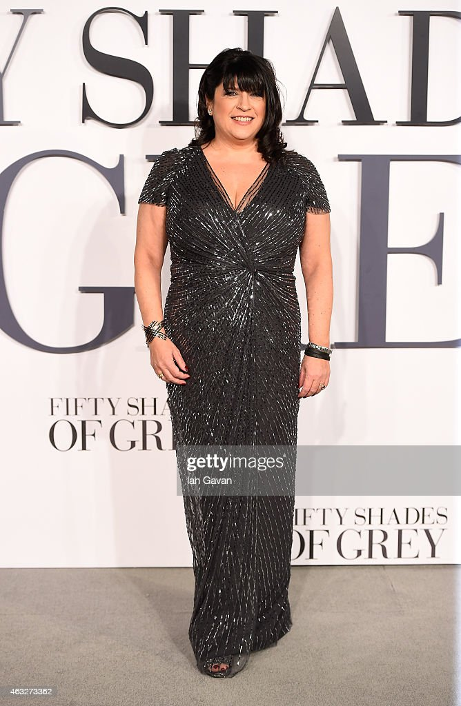 Author <a gi-track='captionPersonalityLinkClicked' href=/galleries/search?phrase=E.+L.+James&family=editorial&specificpeople=9188438 ng-click='$event.stopPropagation()'>E. L. James</a> attends the UK Premiere of 'Fifty Shades Of Grey' at Odeon Leicester Square on February 12, 2015 in London, England.