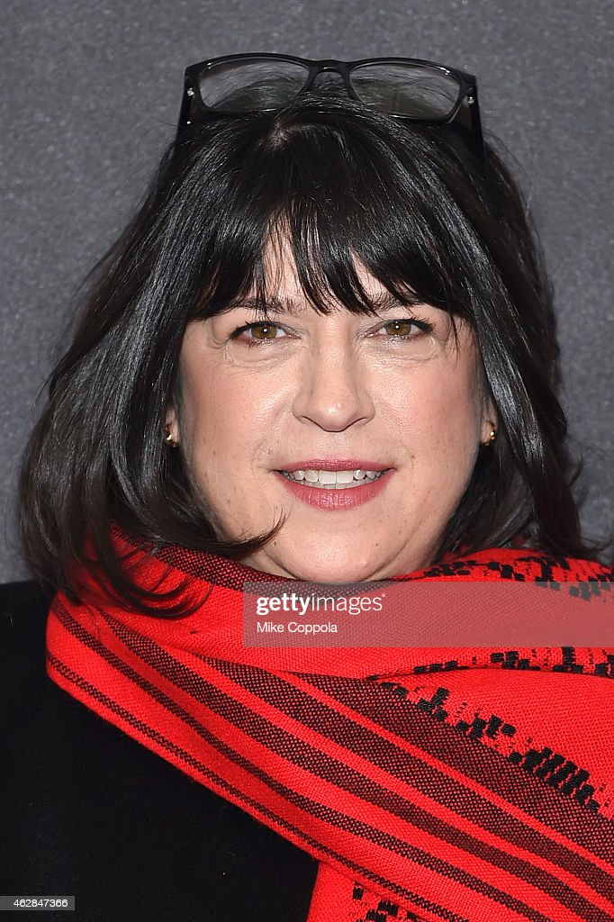 Author E.L. James attends the 'Fifty Shades Of Grey' New York Fan First screening at Ziegfeld Theatre on February 6, 2015 in New York City.