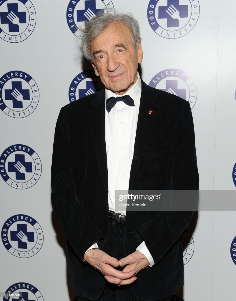 Author Elie Wiesel attends the 2009 Annual Food Allergy Ball at The Waldorf Astoria on December 7, 2009 in New York City.