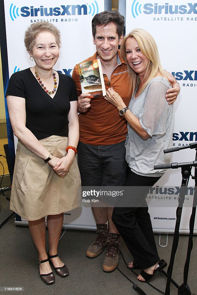 Author Elinor Lipman, Seth Rudetsky and <a gi-track='captionPersonalityLinkClicked' href=/galleries/search?phrase=Kathie+Lee+Gifford&family=editorial&specificpeople=203269 ng-click='$event.stopPropagation()'>Kathie Lee Gifford</a> visit SiriusXM Studio on July 6, 2011 in New York City.