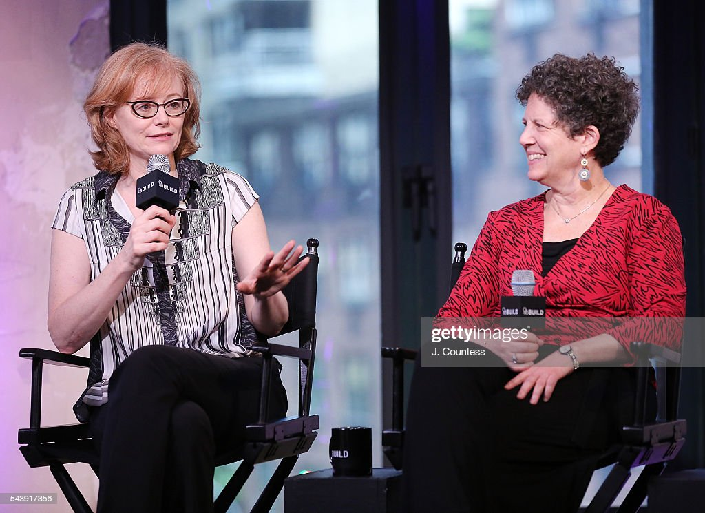 Author Eloisa James and filmmaker Laurie Kahn speak at the AOL Build Presents - Author Eloisa James And Director Laurie Kahn Discussing The New Documentary 'Love Between The Covers' at AOL Studios In New York on June 30, 2016 in New York City.