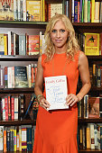 Author Emily Giffin signs copies of her book 'First Comes Love' at Barnes Noble Union Square on June 28 2016 in New York City