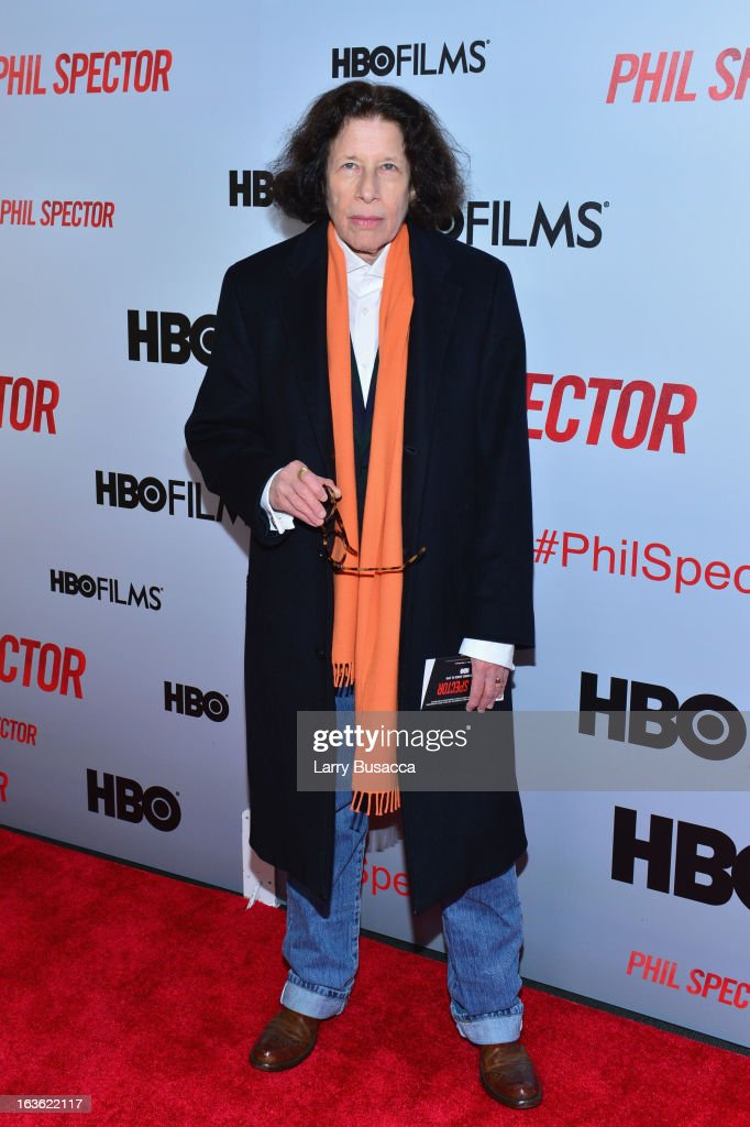 Author Fran Lebowitz attends the 'Phil Spector' premiere at the Time Warner Center on March 13, 2013 in New York City.
