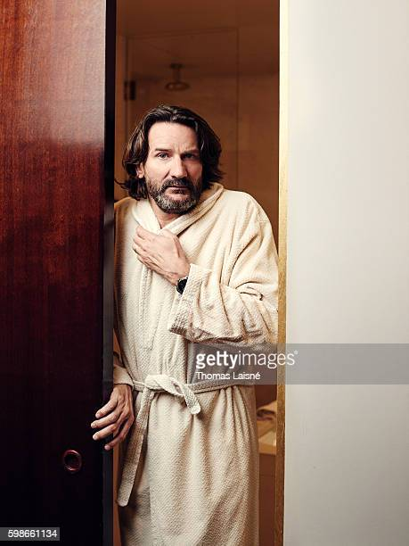 Author Frederic Beigbeder is photographed for Self Assignment on May 30 2016 in Paris France
