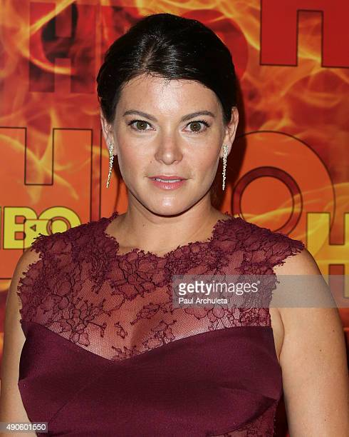 Author Gail Simmons attends the HBO's Official 2015 Emmy After Party at The Plaza at the Pacific Design Center on September 20 2015 in Los Angeles...