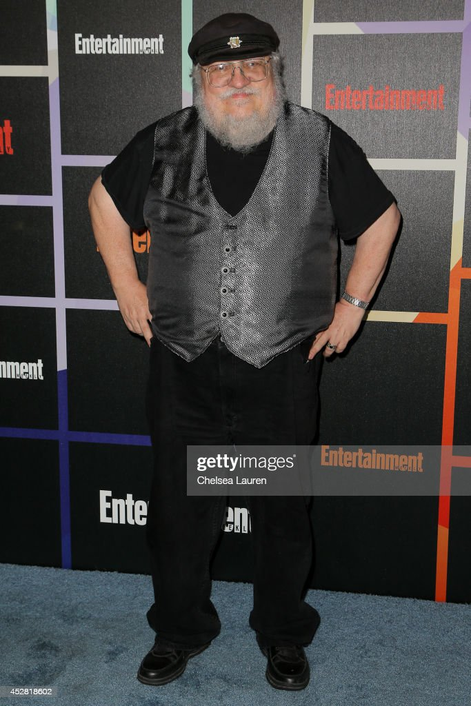 Author George R. R. Martin arrives at Entertainment Weekly's Annual Comic Con Celebration at Float at Hard Rock Hotel San Diego on July 26, 2014 in San Diego, California.