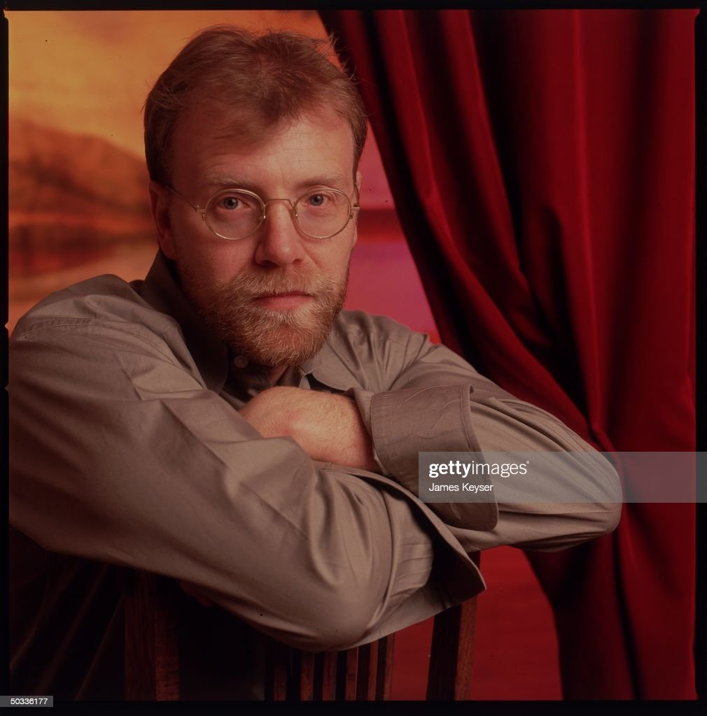 Author <a gi-track='captionPersonalityLinkClicked' href=/galleries/search?phrase=George+Saunders+-+American+Writer&family=editorial&specificpeople=10844804 ng-click='$event.stopPropagation()'>George Saunders</a> in serious portrait.