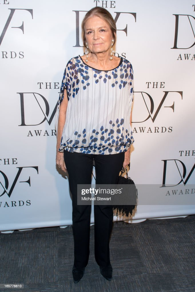 Author <a gi-track='captionPersonalityLinkClicked' href=/galleries/search?phrase=Gloria+Steinem&family=editorial&specificpeople=213078 ng-click='$event.stopPropagation()'>Gloria Steinem</a> attends the 2013 DVF Awards at the United Nations on April 5, 2013 in New York City.