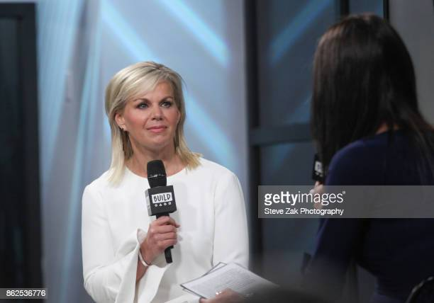 Author Gretchen Carlson attends Build Series to discuss her new book 'Be Fierce Stop Harassment And Take Back Your Power' at Build Studio on October...