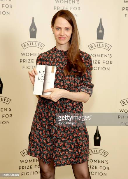 Author Gwendoline Riley shortlisted for the 2017 Baileys Women's Prize for Fiction for 'First Love' ahead of tonights winner annoucement at the Royal...