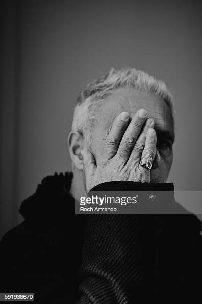 Author Hanif Kureishi is photographed for Self Assignment on October 3 2015 in Dinard France
