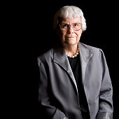 Author Harper Lee is photographed for Self Assignment on March 13 in New York City