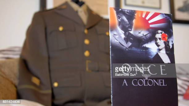 Author Heather Shreve whose novel 'Once A Colonel' will be released soon recently received a uniform from a collector who had purchased an Army...