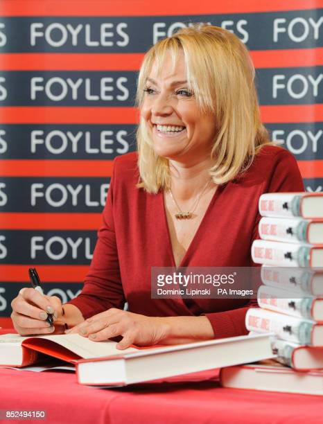 Author Helen Fielding attends a photocall ahead of a signing session for her new book 'Bridget Jones Mad About the Boy' at Foyles in central London