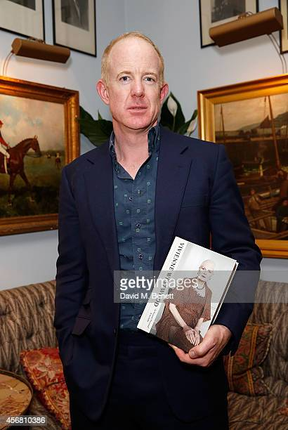 Author Ian Kelly at Mark's Club for the Vivienne Westwood Autobiography Launch on October 7 2014 in London England