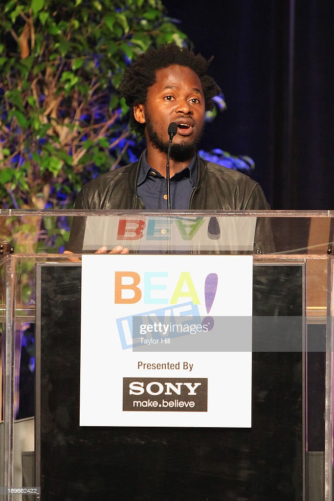 Author Ishmael Beah speaks during the 2013 Book Expo America on day one at Jacob Javits Center on May 30, 2013 in New York City.