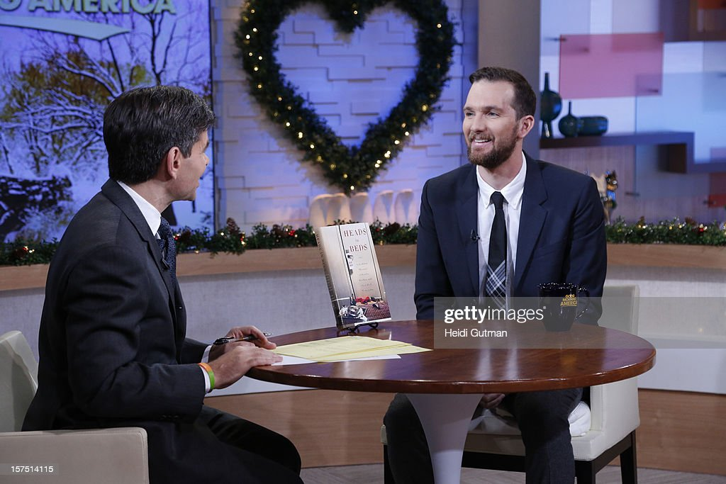 AMERICA - Author Jacob Tomsky is a guest on 'Good Morning America,' 12/3/12, airing on the ABC Television Network. (Photo by Heidi Gutman/ABC via Getty Images) GEORGE