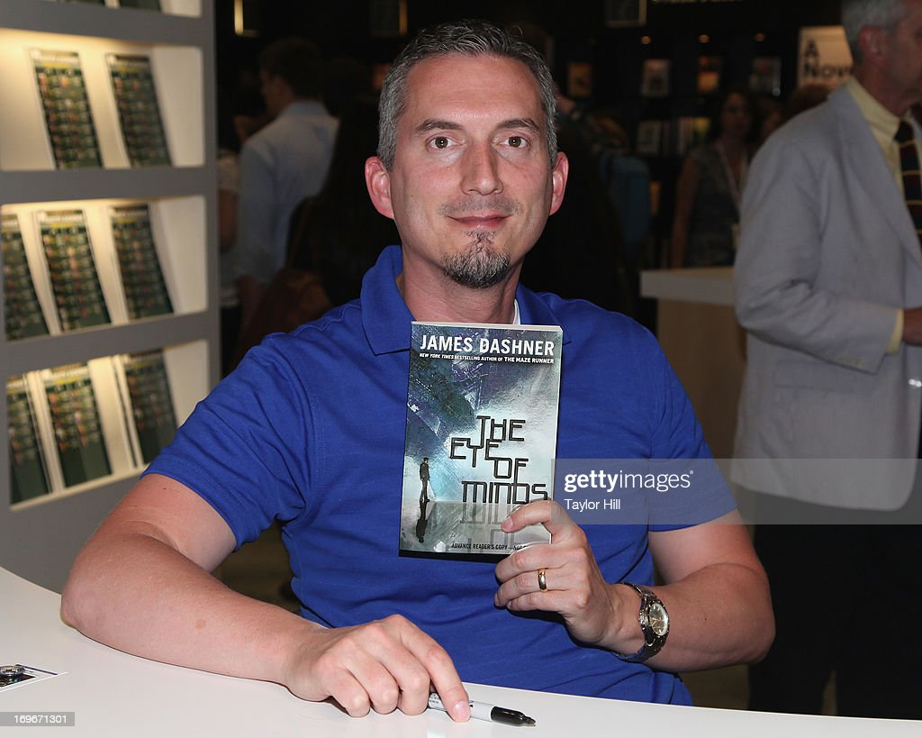 Author James Dashner attends the 2013 Book Expo America on day one at Jacob Javits Center on May 30, 2013 in New York City.