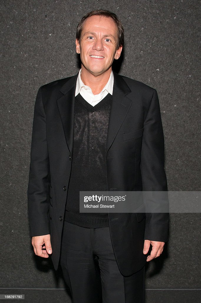 Author James Hester attends The Museum of Modern Art's Jazz Interlude Gala after party at Museum of Modern Art on December 12, 2012 in New York City.