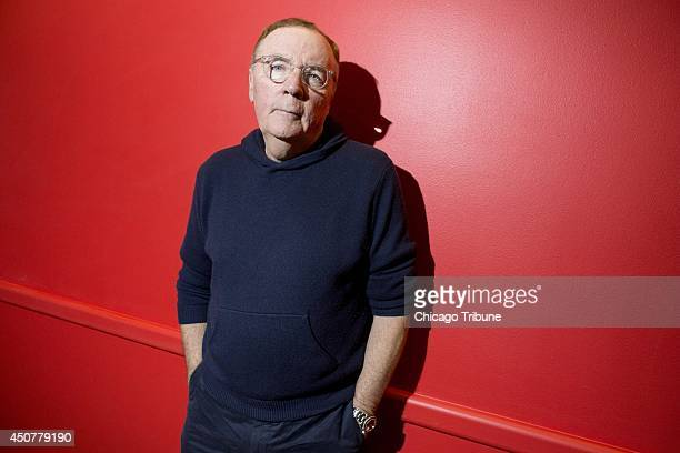 Author James Patterson poses at the Book Expo America convention at the Jacob K Javits Convention Center in New York on May 31 2014 Patterson will...
