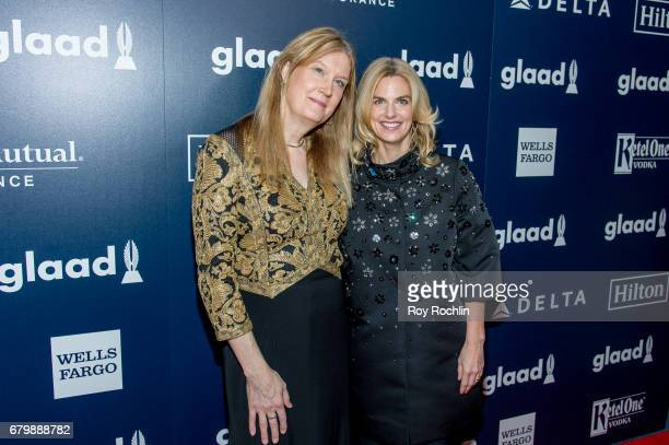 Author Jenny Boylan and Sarah Kate Ellis attend the 28th Annual GLAAD Awards at New York Hilton Midtown on May 6 2017 in New York City