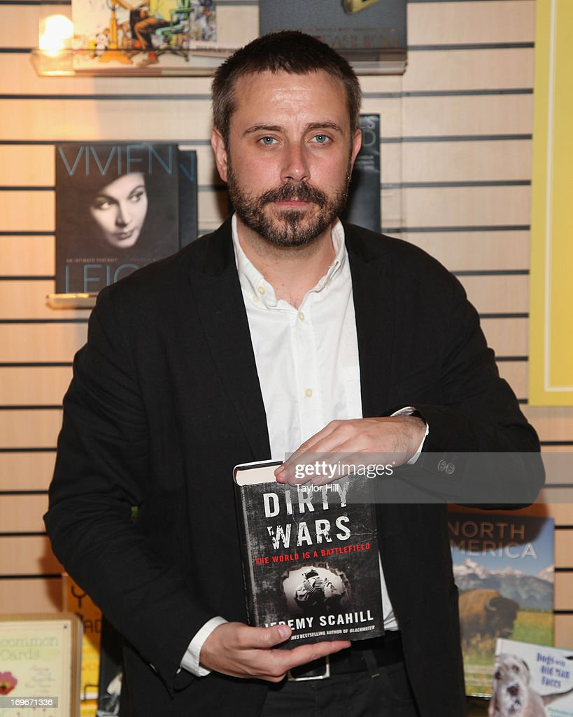 Author Jeremy Scahill attends the 2013 Book Expo America on day one at Jacob Javits Center on May 30, 2013 in New York City.