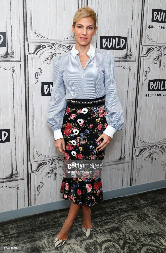 Author Jessica Seinfeld discusses her cookbook 'Food Swings' at Build Studio on April 26, 2017 in New York City.
