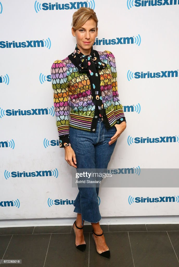 Author Jessica Seinfeld visits the SiriusXM Studios on April 24, 2017 in New York City.