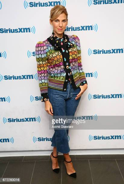 Author Jessica Seinfeld visits the SiriusXM Studios on April 24 2017 in New York City