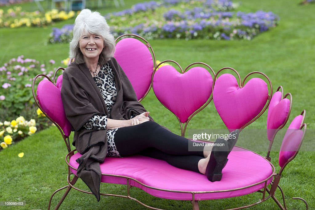 Author, Jilly Cooper poses for a portrait at the Cheltenham Literature Festival on October 9, 2010 in Cheltenham, England.