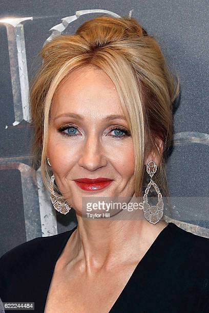 Author JK Rowling attends the premiere of 'Fantastic Beasts and Where to Find Them' at Alice Tully Hall Lincoln Center on November 10 2016 in New...