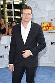 Author John Green attends The 2015 MTV Movie Awards at Nokia Theatre LA Live on April 12 2015 in Los Angeles California