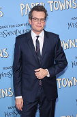 Author John Green attends the New York City premiere of 'Paper Towns' at AMC Loews Lincoln Square on July 21 2015 in New York City
