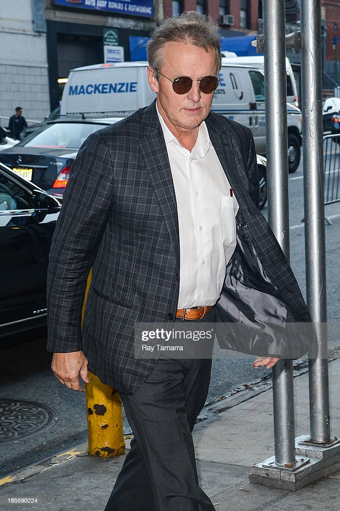 Author John Grisham enters the 'CBS This Morning'' taping at the CBS Studios on October 22, 2013 in New York City.