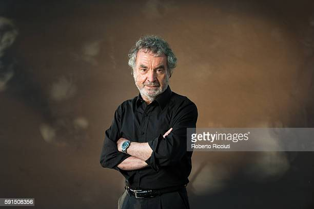 Author John Hands attends a photocall at Edinburgh International Book Festival at Charlotte Square Gardens on August 17 2016 in Edinburgh Scotland