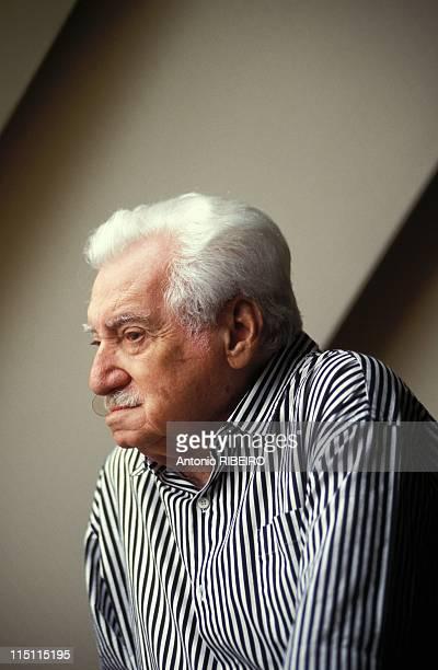 Author Jorge Amado in France on July 18 1992 Jorge Amado