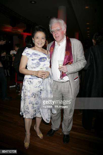 Author Jung Chang and guest attend the BBC Four Samuel Johnson Prize for NonFiction awards at the South Bank Centre London SE1
