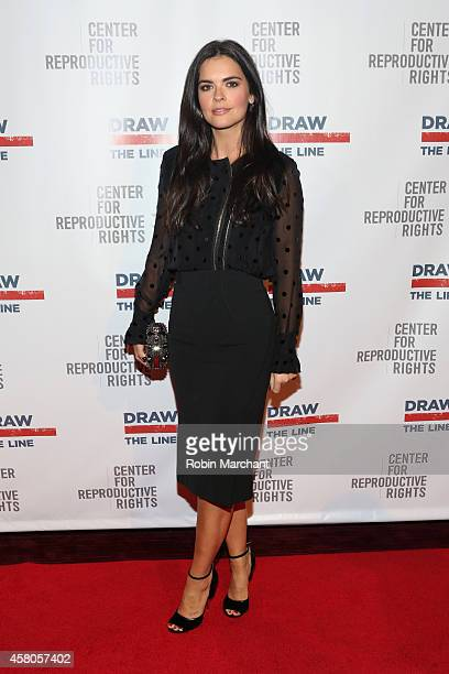 Author Katie Lee attends the Center for Reproductive Rights 2014 Gala at Jazz at Lincoln Center on October 29 2014 in New York City
