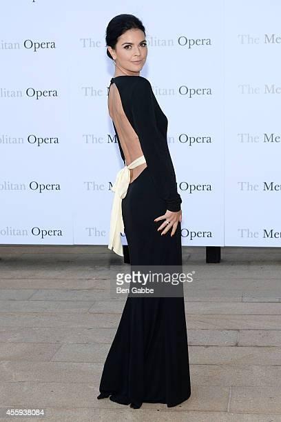 Author Katie Lee attends the Metropolitan Opera Season Opening at The Metropolitan Opera House on September 22 2014 in New York City