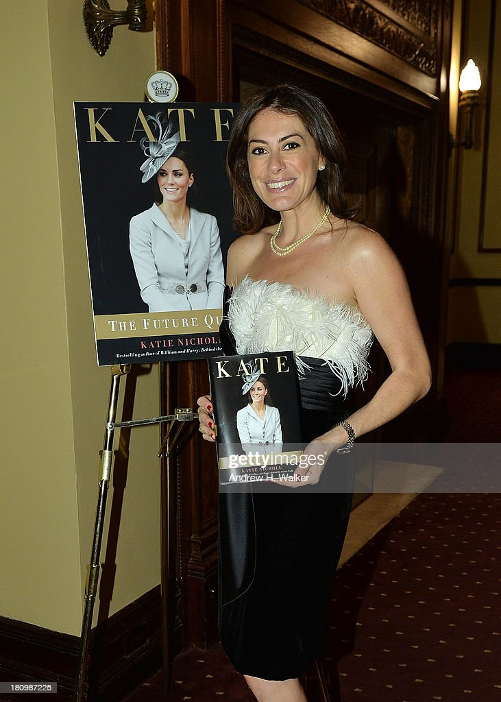 Author Katie Nicholl attends the 'Kate: The Future Queen launch party on September 18, 2013 in New York City.