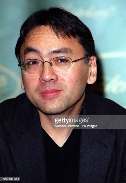 Author Kazuo Ishiguro of the book When We Were Orphans at Hatchards bookshop in Piccadilly central London The title is one of six shortlisted for the...
