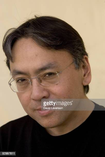 Author Kazuo Ishiguro poses for a portrait at 'The Guardian Hay Festival 2005' held at Hay on Wye on May 29 2005 in Powys Wales The festival runs...